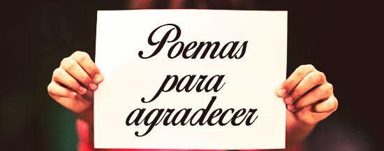 poemas para agradecer