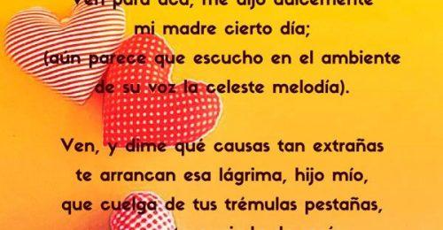 Poemas para madres cortos
