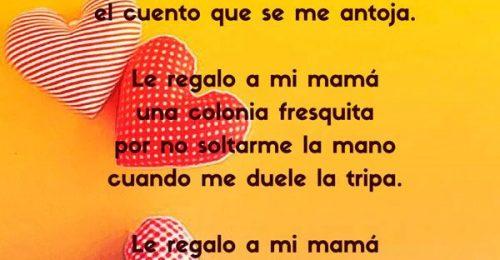 Poemas para mama