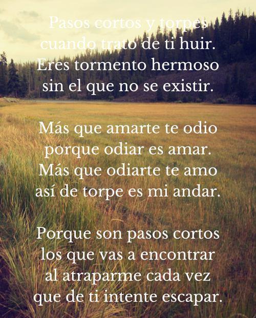 Poesia enamorar