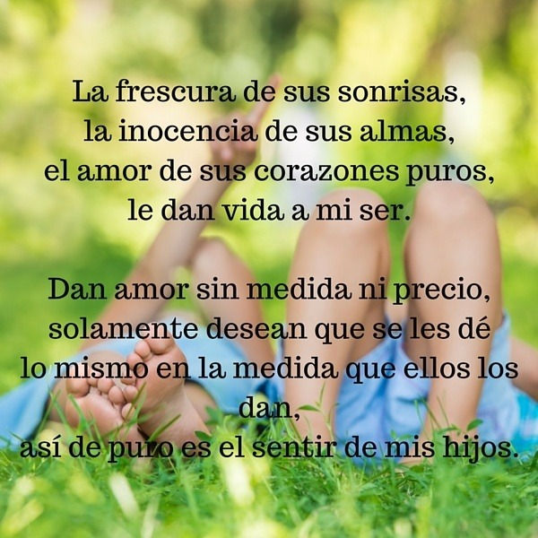 Los Mejores Poemas Para Hijos E Hijas Muy Bonitos