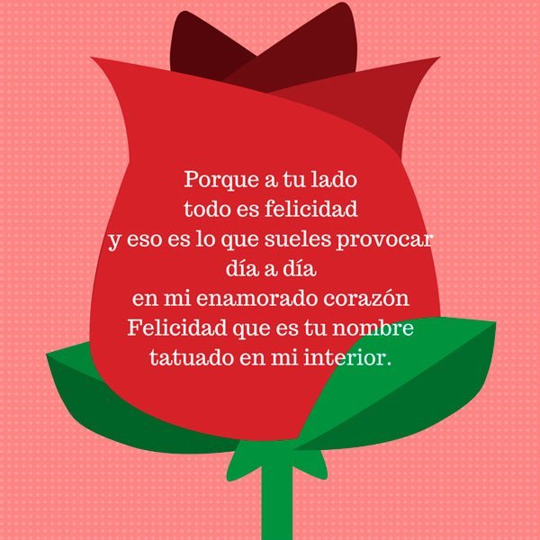 Poemas para mi enamorada