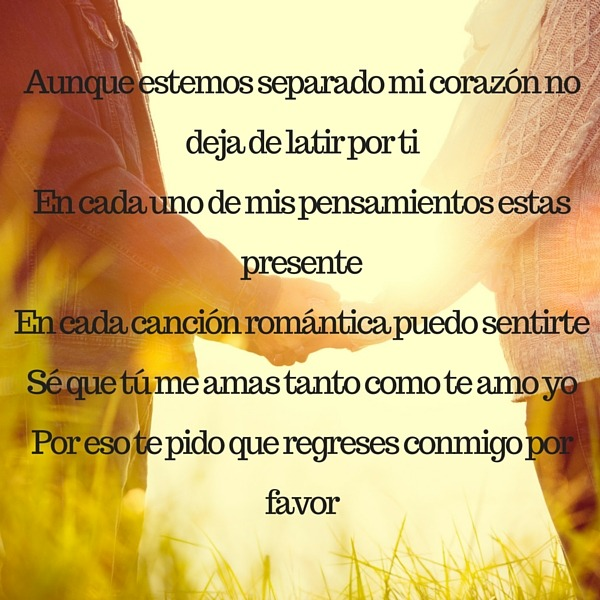 Poemas para reconquistar