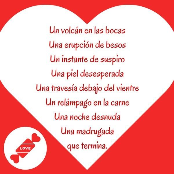 Poesias para hacer el amor