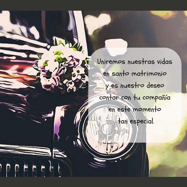 Poesias para invitaciones de boda
