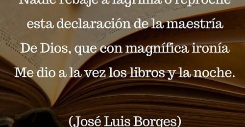 Versos dia de los libros