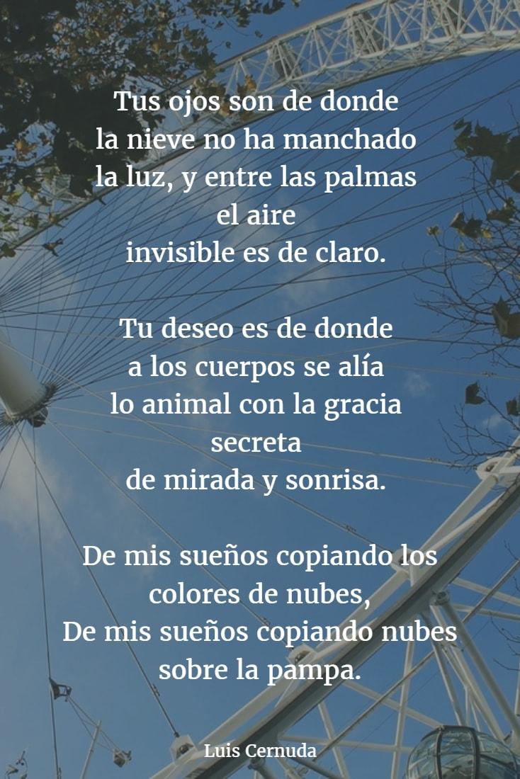 Poemas de luis cernuda 5