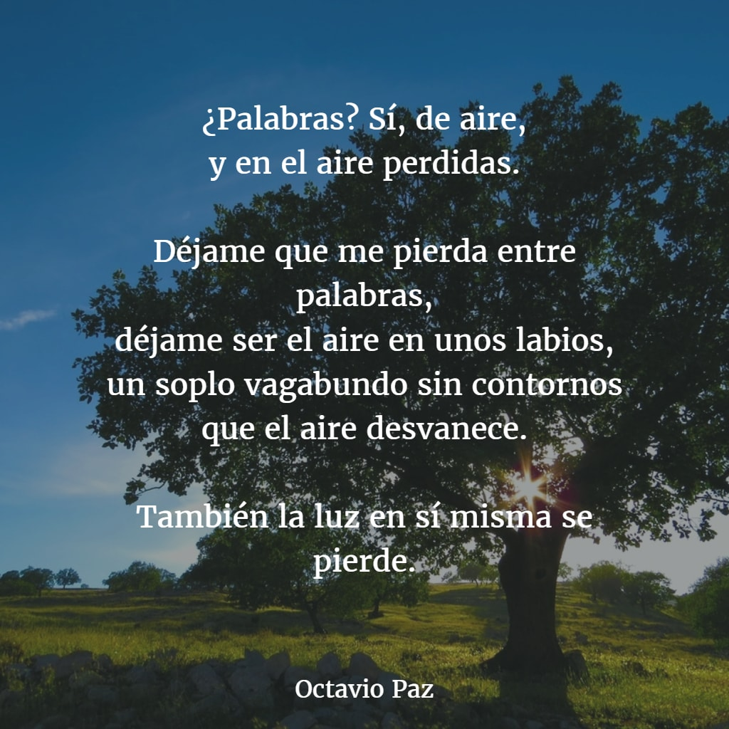 Poemas de octavio paz 3