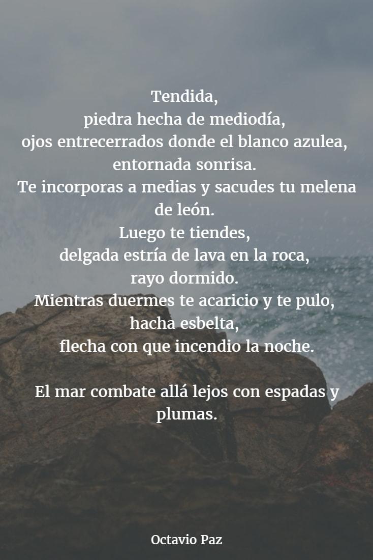 Poemas de octavio paz 4