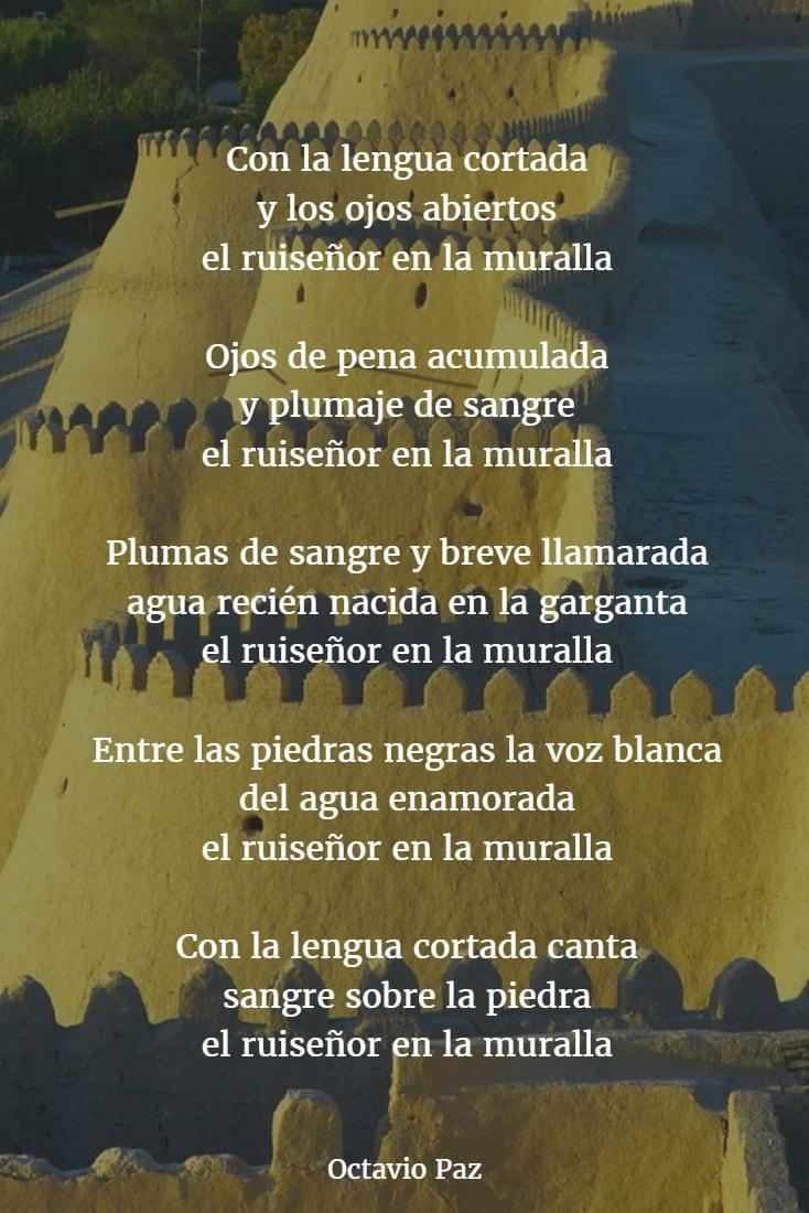 Poemas de octavio paz 8