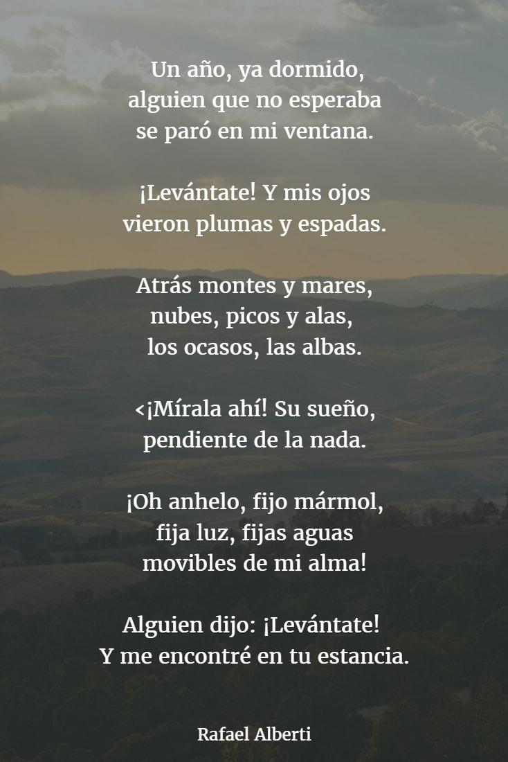 Poemas de rafael alberti 1