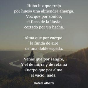 poemas de rafael alberti