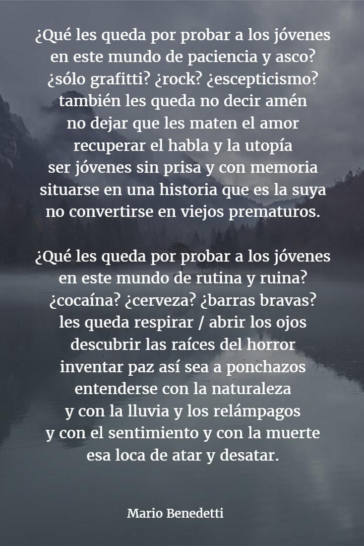 Poemas mario benedetti 2