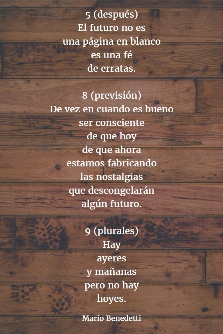 Poemas mario benedetti 9