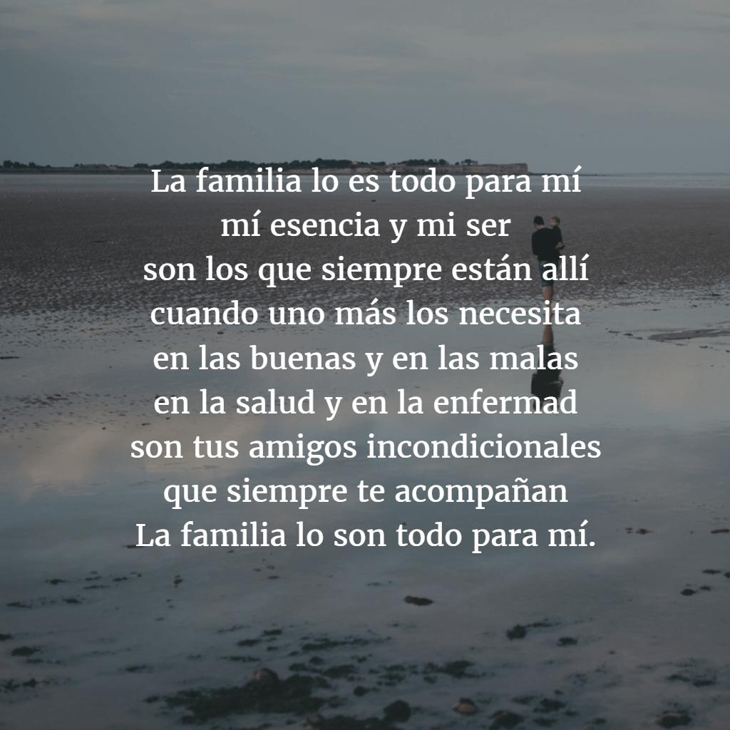 Poemas para familia 1