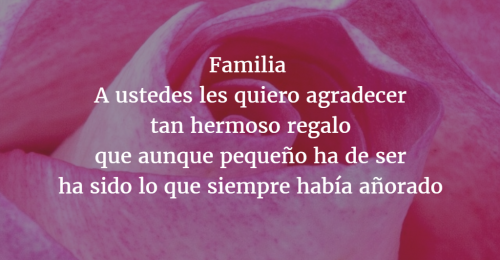 Poemas para familia 4
