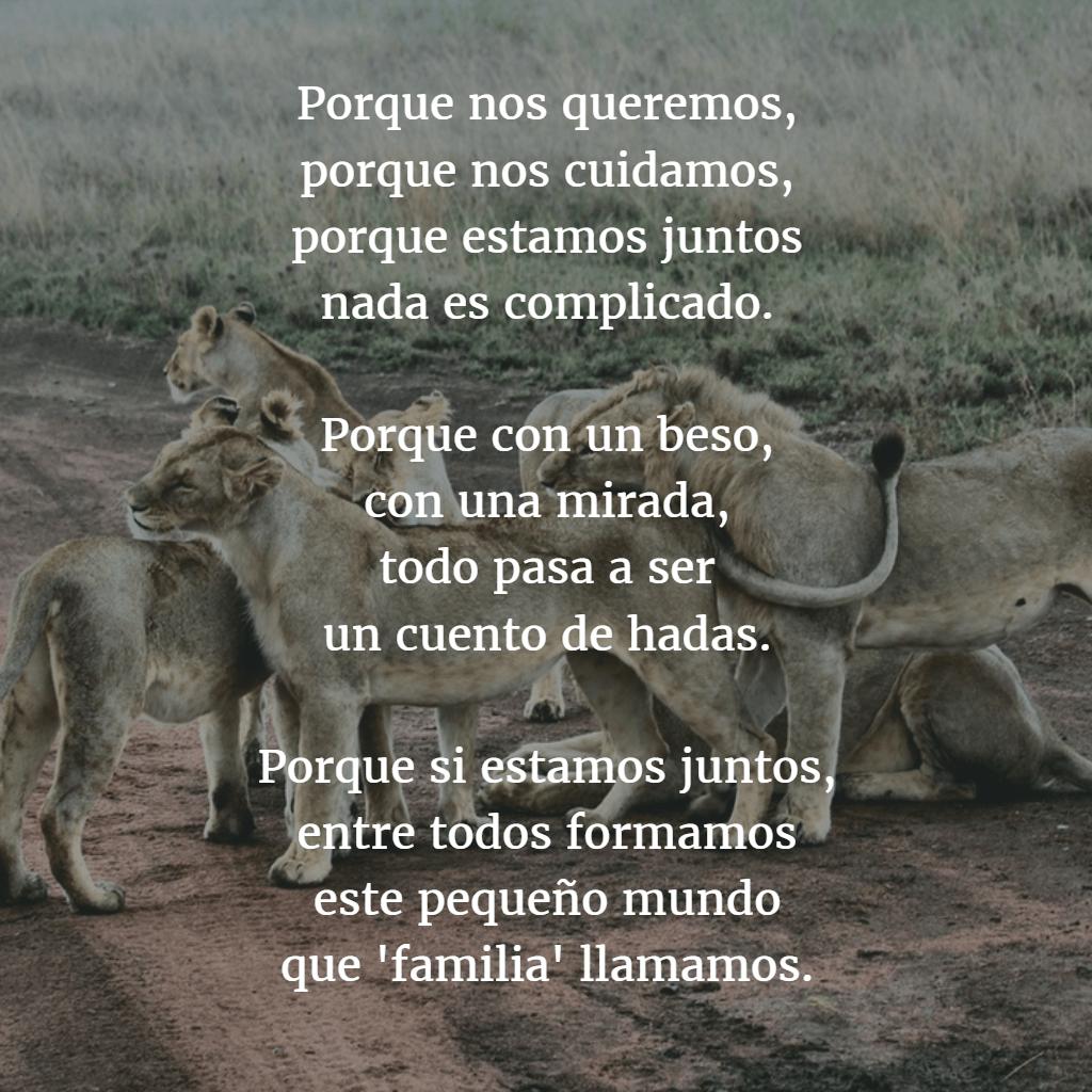 Poemas para familia 5