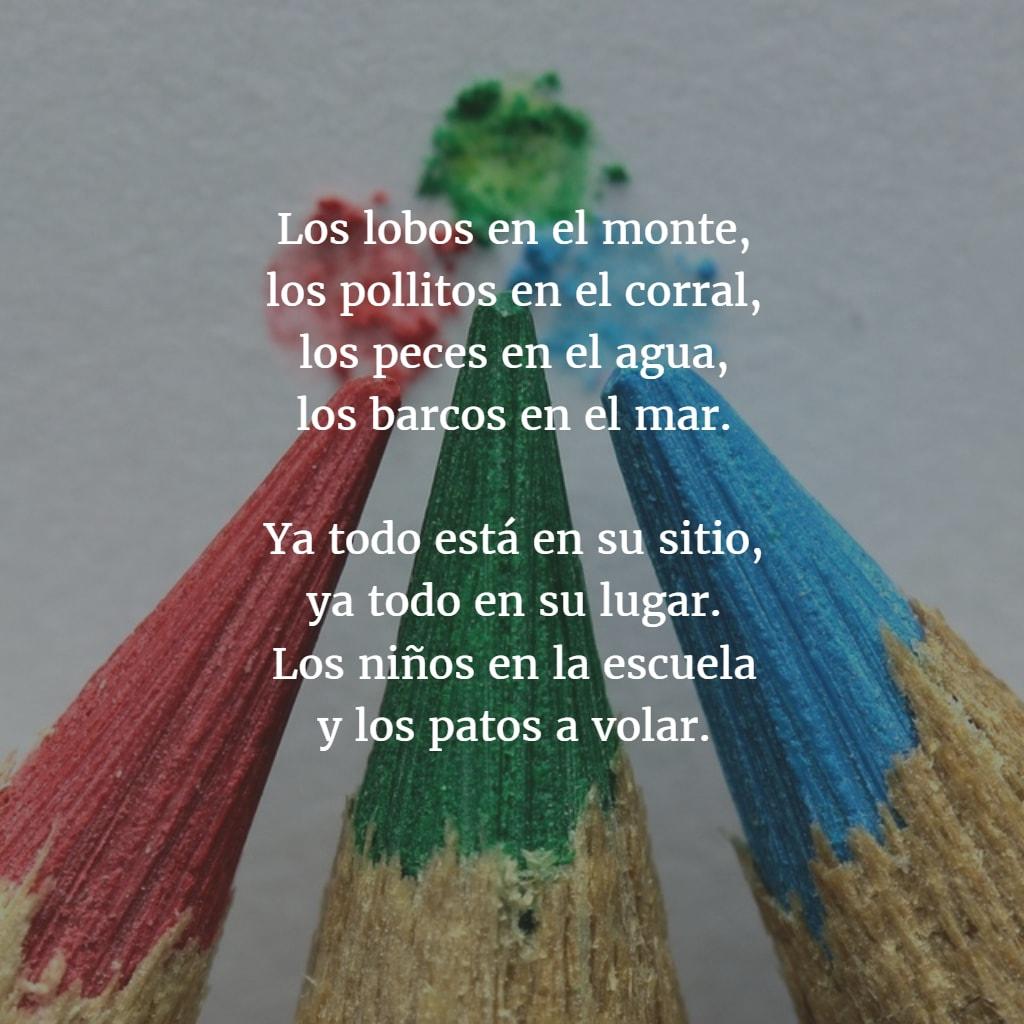 Poemas para ninos 1